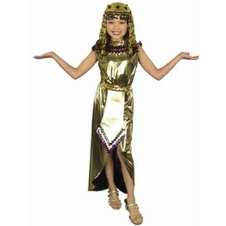 Child's Cleopatra Costume~Large 10-12 / Gold - Cleopatra Dress