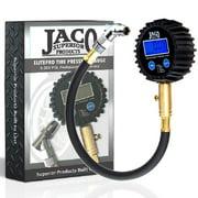 Best Bike Tire Gauges - JACO ElitePro Digital Tire Pressure Gauge - Professional Review