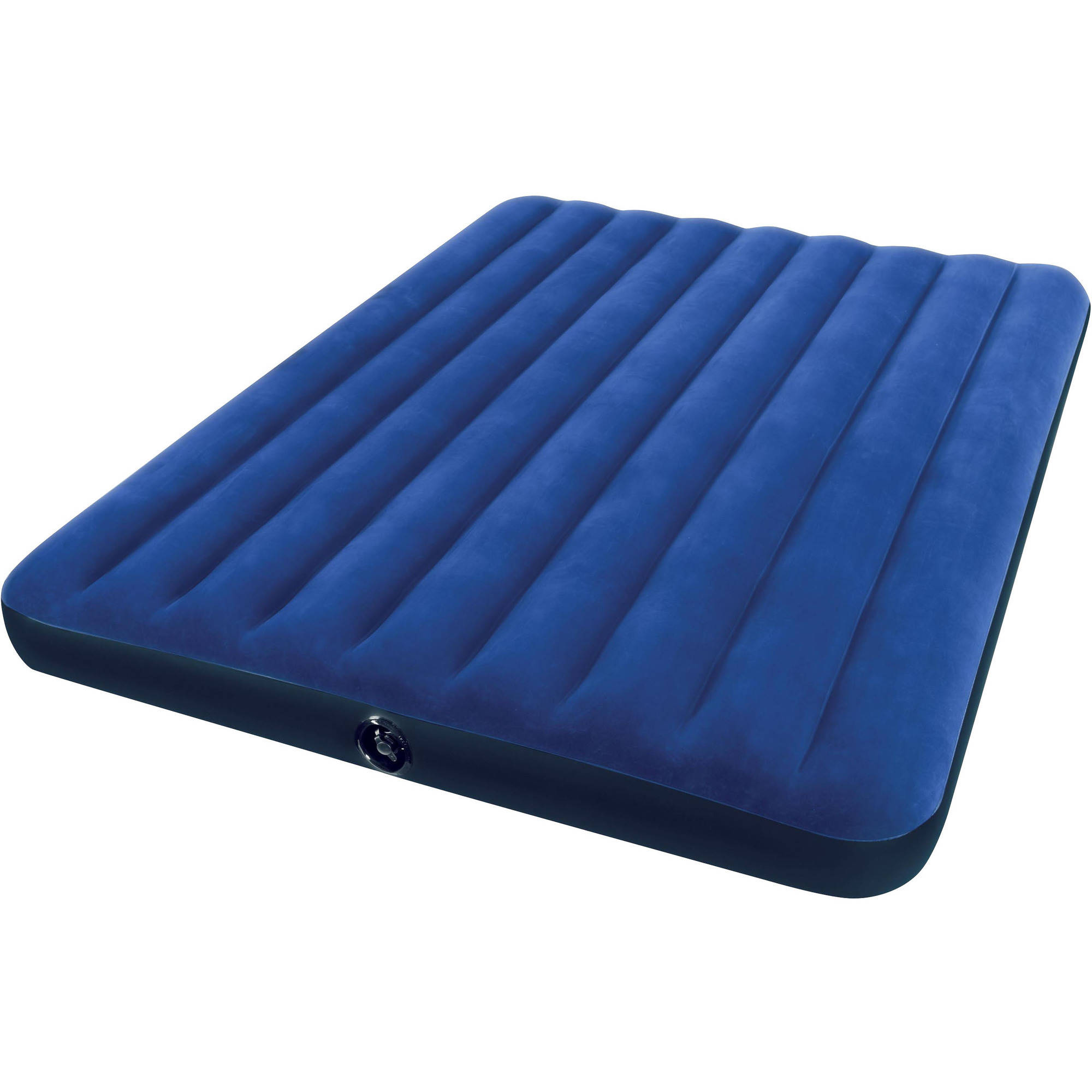 Inflatable bed with frame - Intex Queen 8 75 Classic Downy Inflatable Airbed Mattress