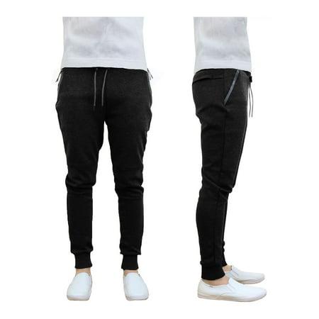 Men's Tech Fleece Jogger Sweatpants With Zipper Pockets