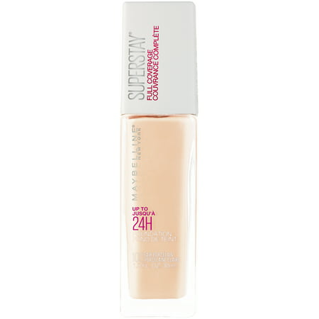 Maybelline Super Stay Full Coverage Foundation, Fair Porcelain Body Superior Full Coverage