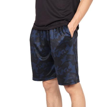 SAYFUT Mens Lightweigh Mesh Shorts Basketball Gym Sports Activewear Running Training Short...