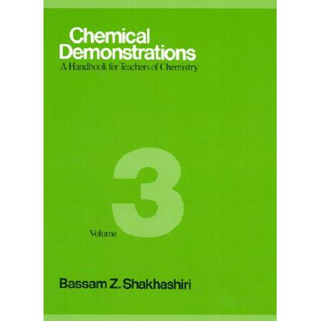 Chemical Demonstrations, Volume 3 : A Handbook for Teachers of Chemistry](Chemistry Demonstrations For Halloween)