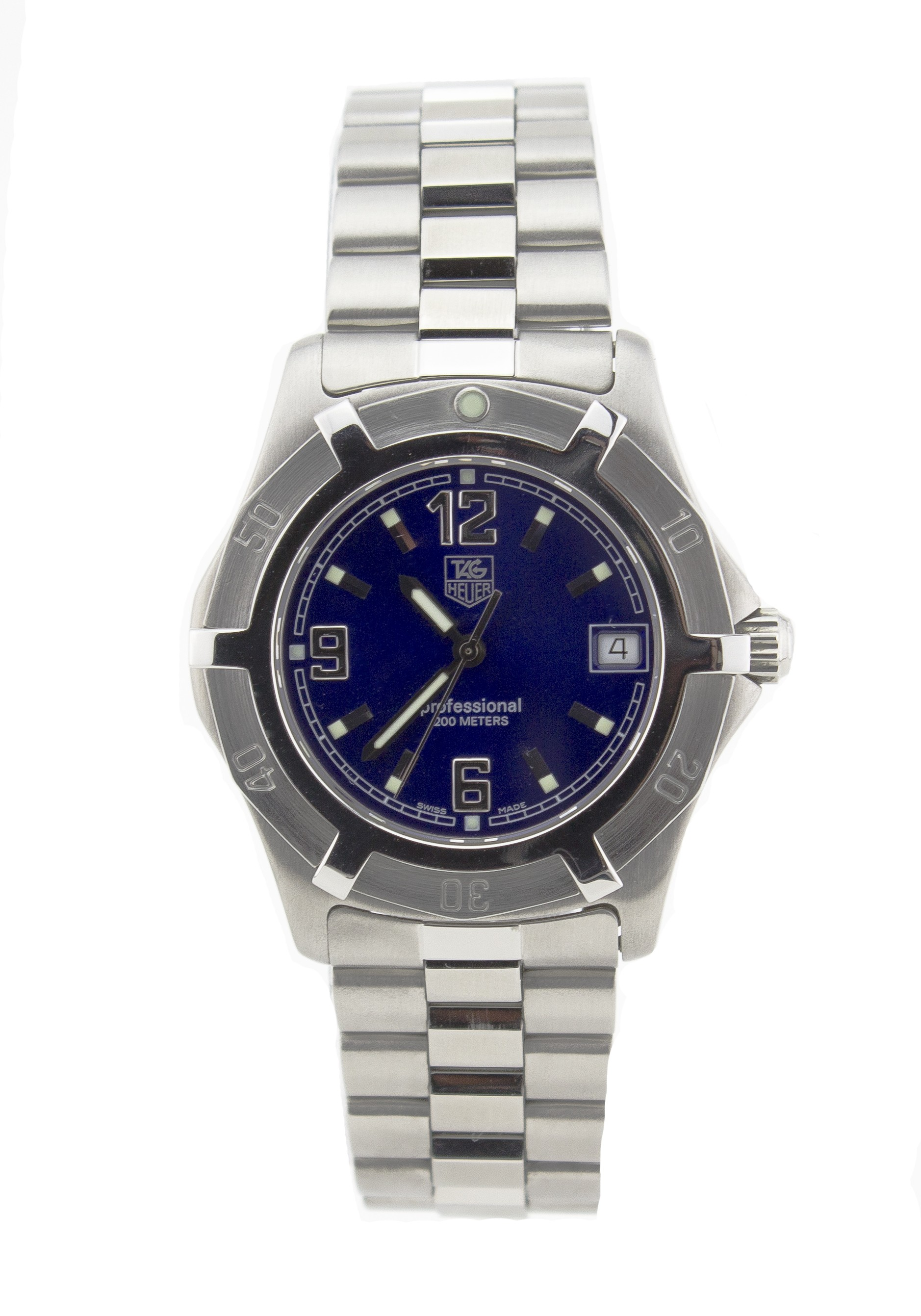 Pre-Owned Tag Heuer Carrera WN1112 Steel  Watch (Certified Authentic & Warranty)