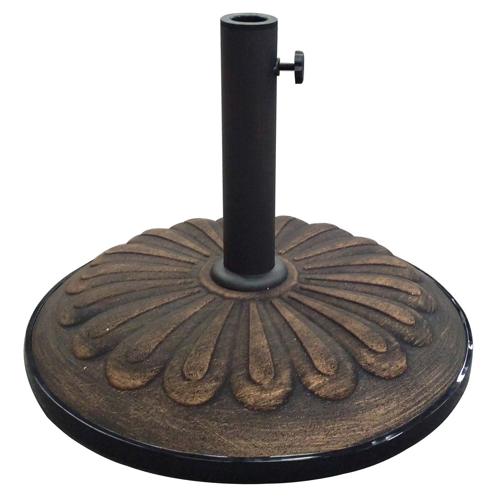 Resin Compound Sunflower Umbrella Base