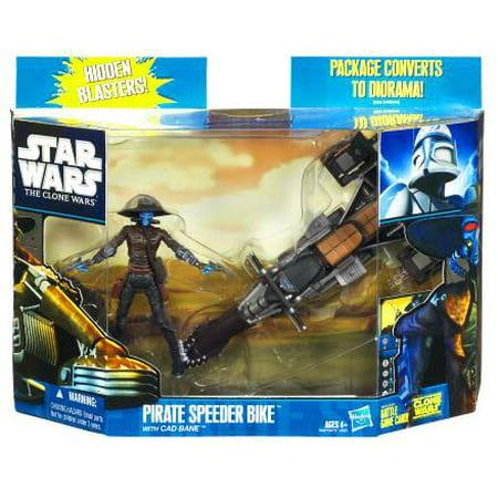 Star Wars The Clone Wars Pirate Speeder Bike with Cad Bane