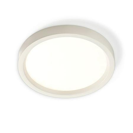 "Philips Lightolier - S5R830K7AL - LED 5"" Round - SlimSurface - Surface Mount - 650 Lumens - 3000K - Aluminum Finish"