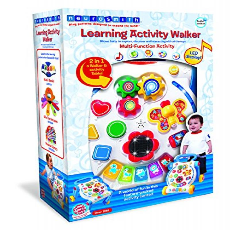 Small World Toys Neurosmith Learning Activity Walker B O by Orda USA