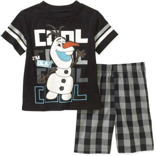 f8ba99470ca9 Disney Frozen - Disney Frozen Olaf Baby Toddler Boy Tee and Shorts ...