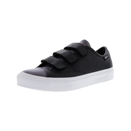 ec8a560a7d VANS - Style 23 V 2-Tone Leather Gunmetal Ankle-High Skateboarding Shoe -  8M   6.5M - Walmart.com