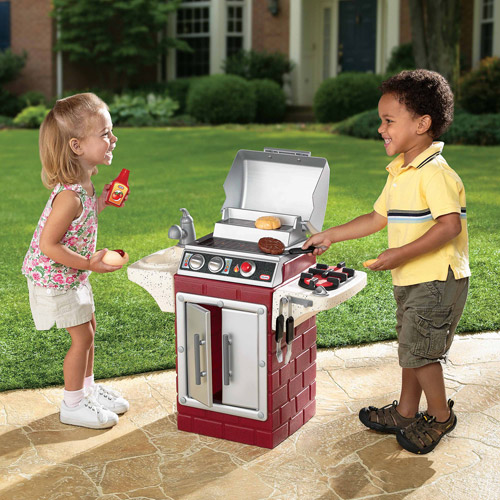 Little Tikes Backyard Barbecue Get Out 'n Grill Play Set