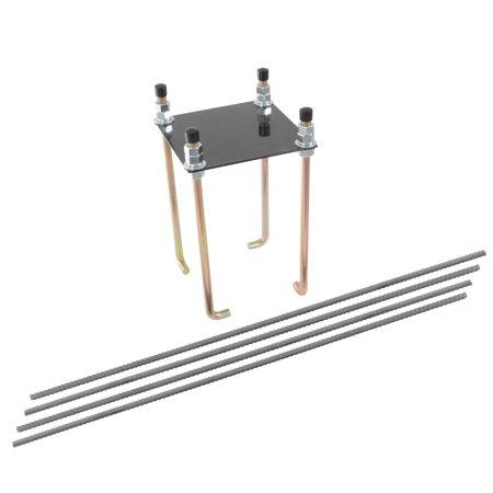 "Silverback 7"" Basketball Hoop Anchor Kit Designed for Silverback, Goaliath, and Hoopstar Basketball Hoops"
