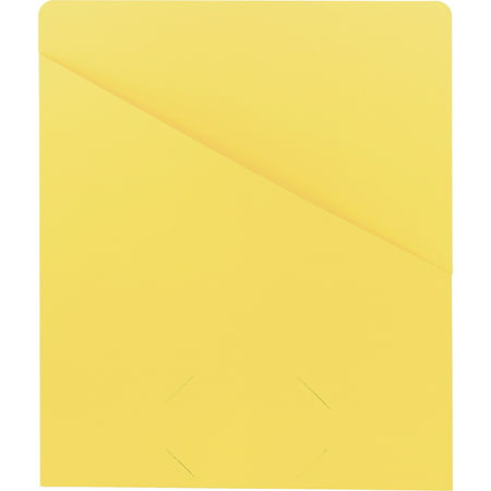 Smead, SMD75434, Slash-style File Jackets, 25 / Pack, Yellow ()