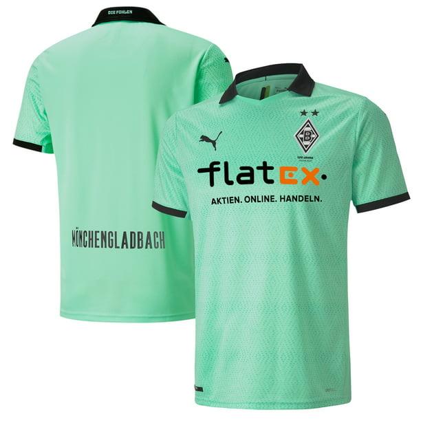 Borussia Monchengladbach Puma 2020/21 Third Replica Jersey - Green
