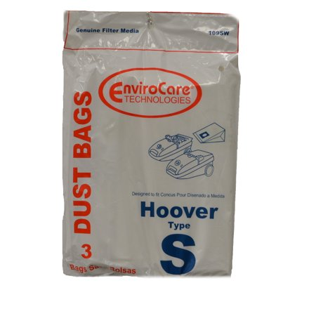 Hoover Type S Vacuum Bags 3 Pack From Onlinevacshop.com with Free Shipping! These are generic Bags 3 Per - These Packages