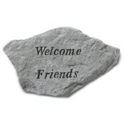 Kay Berry- Inc. 68320 Welcome Friends - Garden Accent - 12.75 Inches x 7.25 Inches