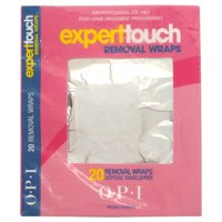 OPI Expert Touch Removal Wraps Removal Wraps, Women, 20Count