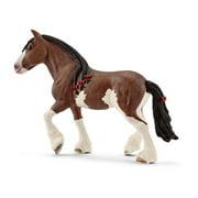 Schleich Farmland, Clydesdale Mare Toy Figure