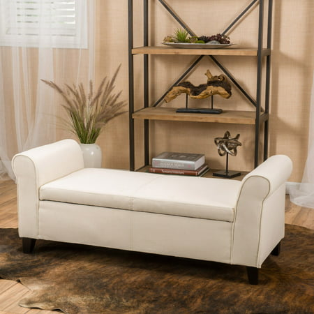 Martin Upholstered Bedroom Bench with Storage