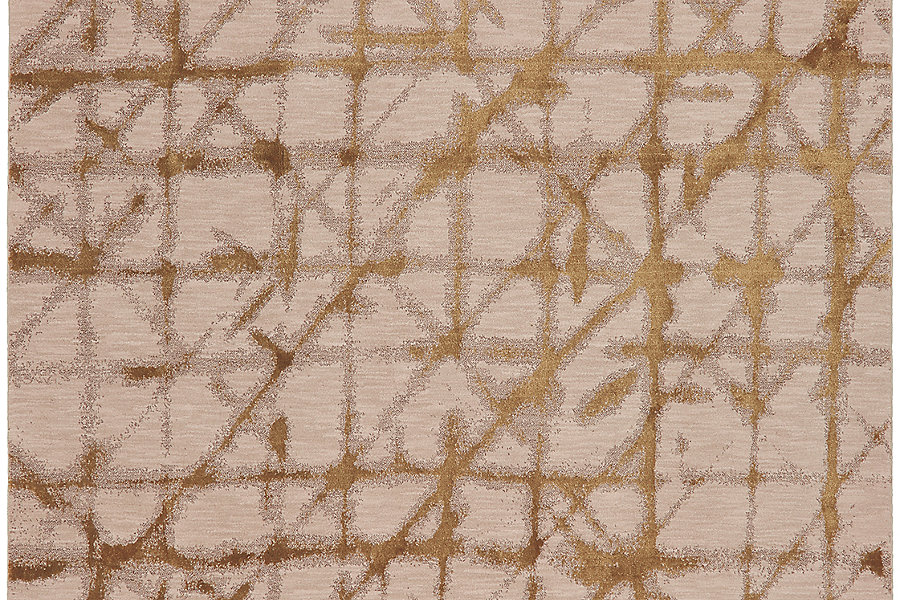 "Karastan Enigma Contact Brushed Gold (5' 3""x7' 10"") by Mohwak Home"