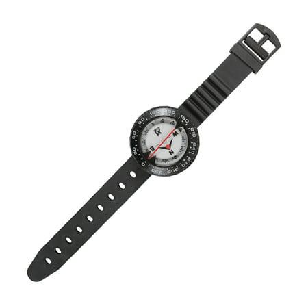 XS SCUBA Complete Wrist Hose Mount Compass Gauge Top Side Reading