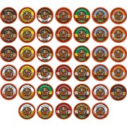 Crazy Cups, Decaf Flavored Coffee Variety Pack Sampler K-Cups, 40 Ct