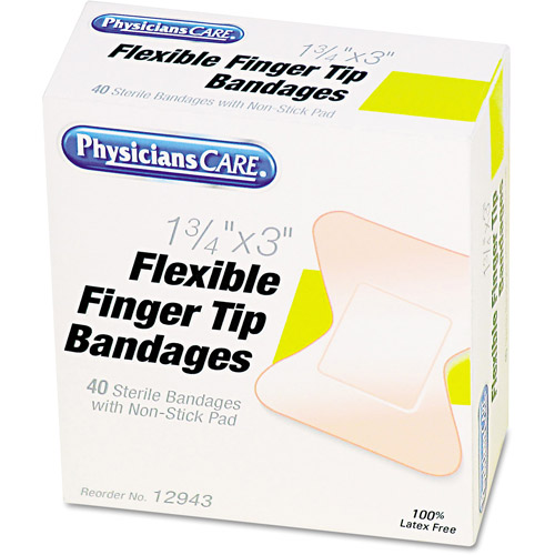 PhysiciansCare Flexible Finger Tip Bandages, 40 count