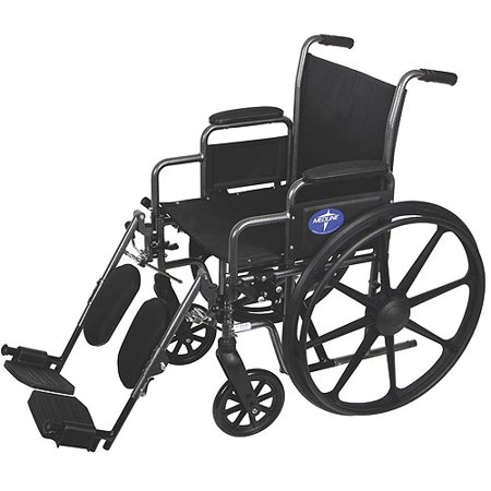 Medline Light (Medline K3 Basic Lightweight Wheelchairs with Elevating Legrests)