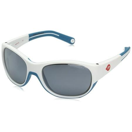 Julbo J4911111 Kids' Luky Spectron 3+ Sunglasses in White - Blue Color Julbo Kids Sunglasses