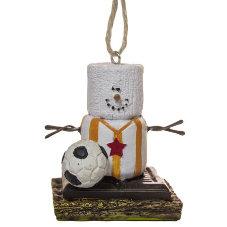 S'Mores Soccer Player Christmas/ Everyday Ornament