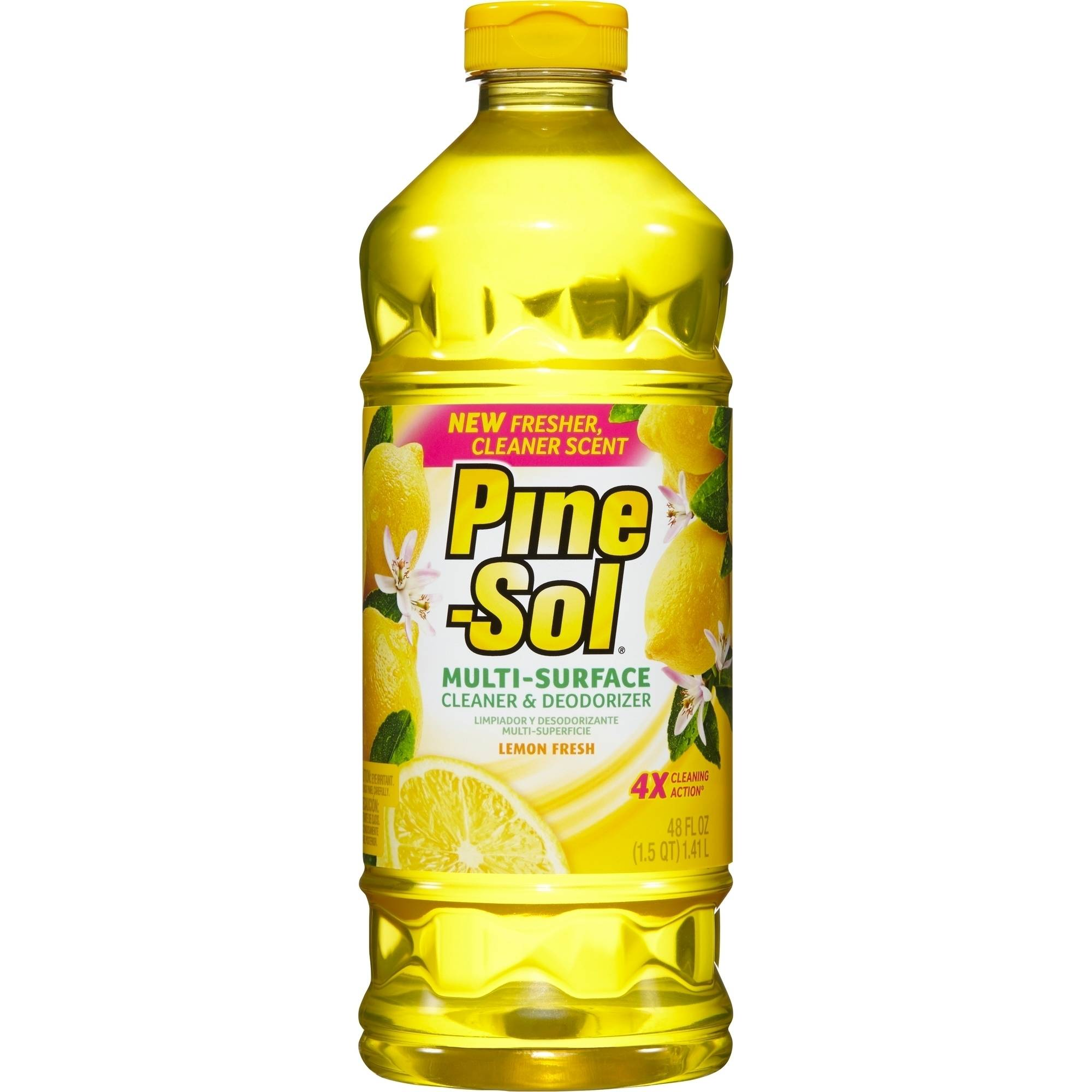 Pine-Sol Multi-Surface Cleaner, Lemon Fresh, 48 Fluid Ounce Bottle