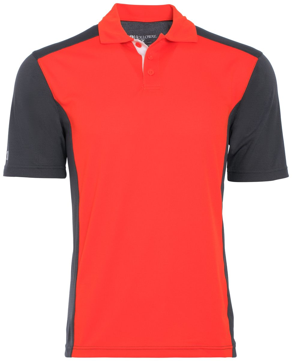Holloway Adult Polyester Closed-Hole Division Polo Style 222486