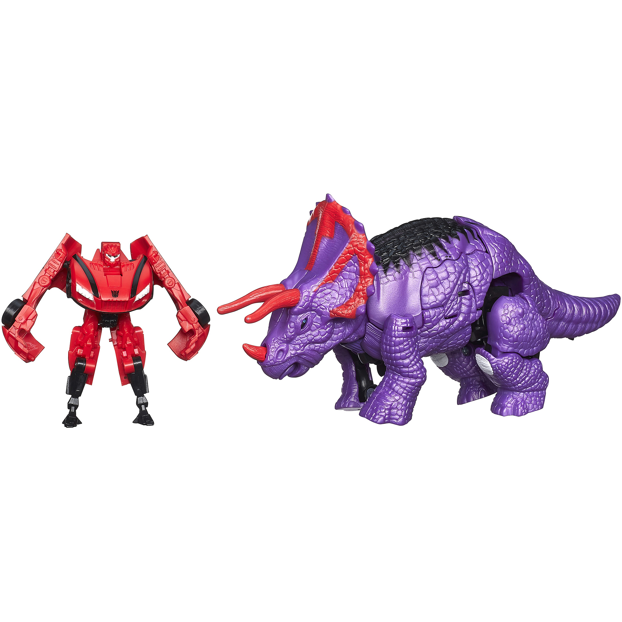 Transformers Age of Extinction Legion Class 2-Pack Decepticon Stinger and Dinobot Slug Figures