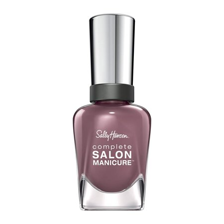 Infused Formula (-Walmartplete Salon Manicure Nail Color, Purples, All-in-one formula infused with KeratinWalmartplex for stronger nails By Sally)