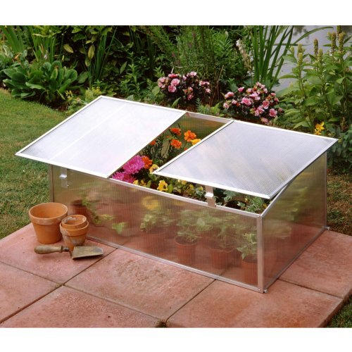 Halls Single Cold Frame Greenhouse