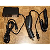Replacement DC Car Charger & Home Wall Adapter for Garmin...