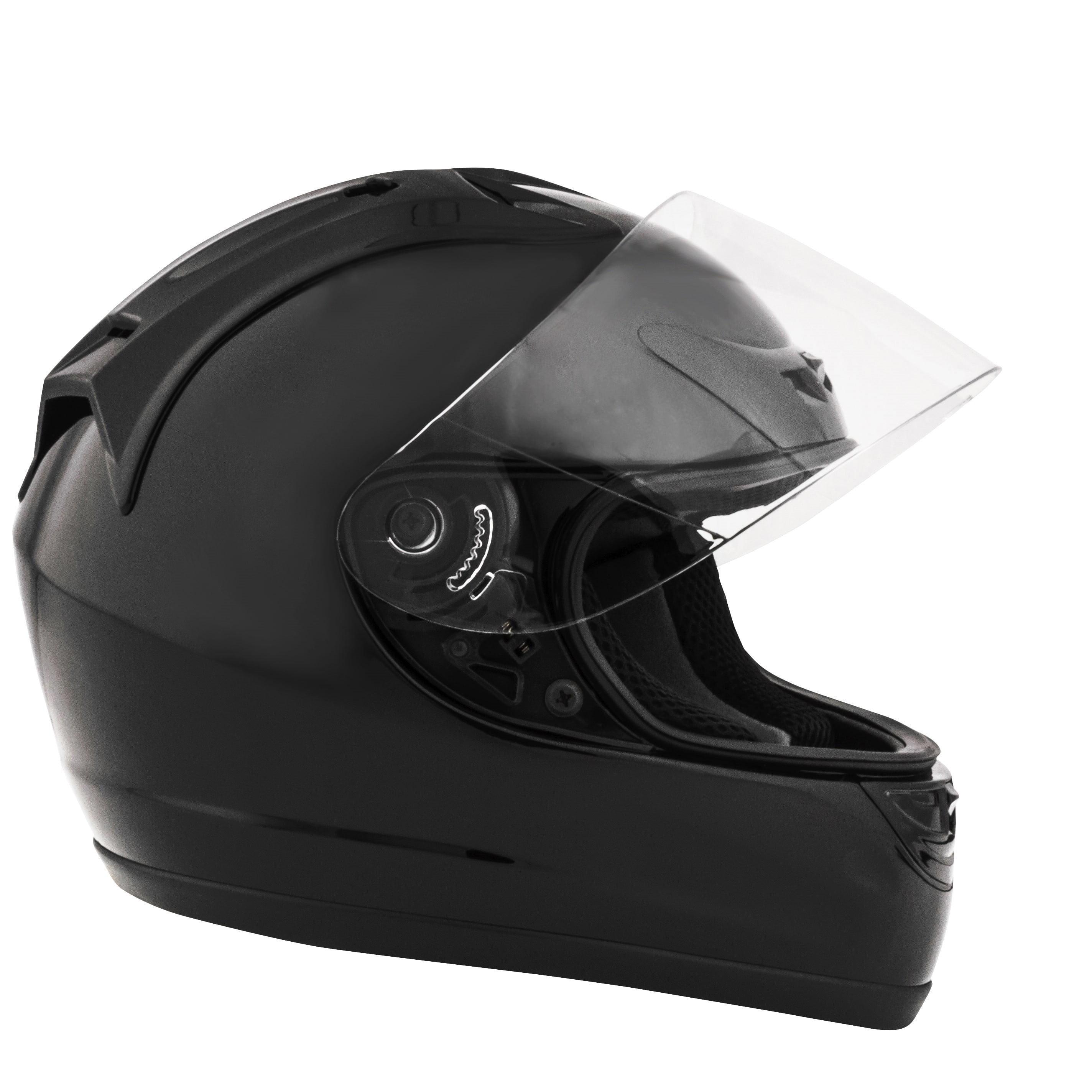 832ecc51 Fuel Helmets, Full-Face Helmet, Matte Black, Sizes S to XL - Walmart.com