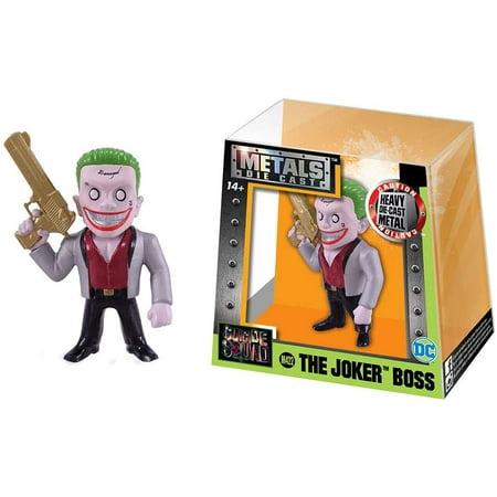 The Joker Suit (DC Metals The Joker Action Figure [Silver)
