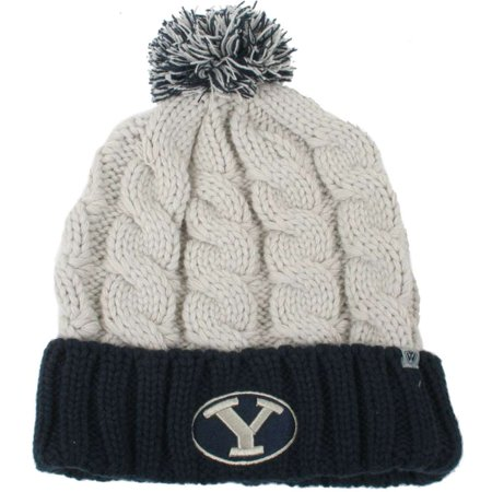 fb4d2273665 BYU Cougars Top of the World Womens Gust Pom Knit Beanie - Walmart.com