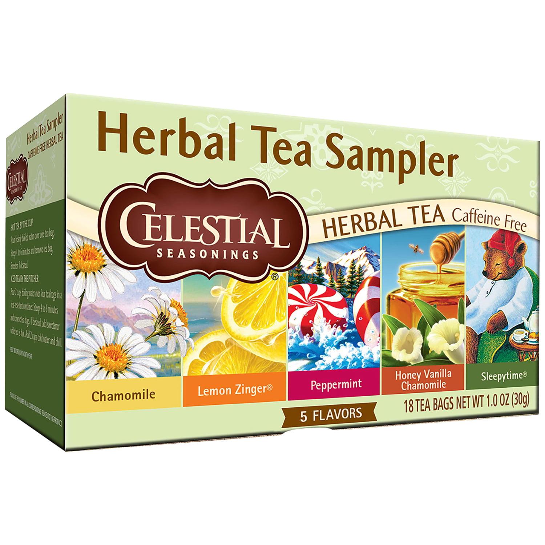 Celestial Seasonings Herbal Tea Sampler 18 CT by Celestial Seasonings, Inc., The Hain Celestial Group, Inc.