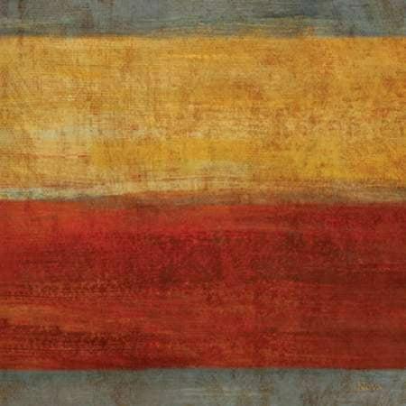 Abstract Stripe Square II Poster Print by  Studio Nova
