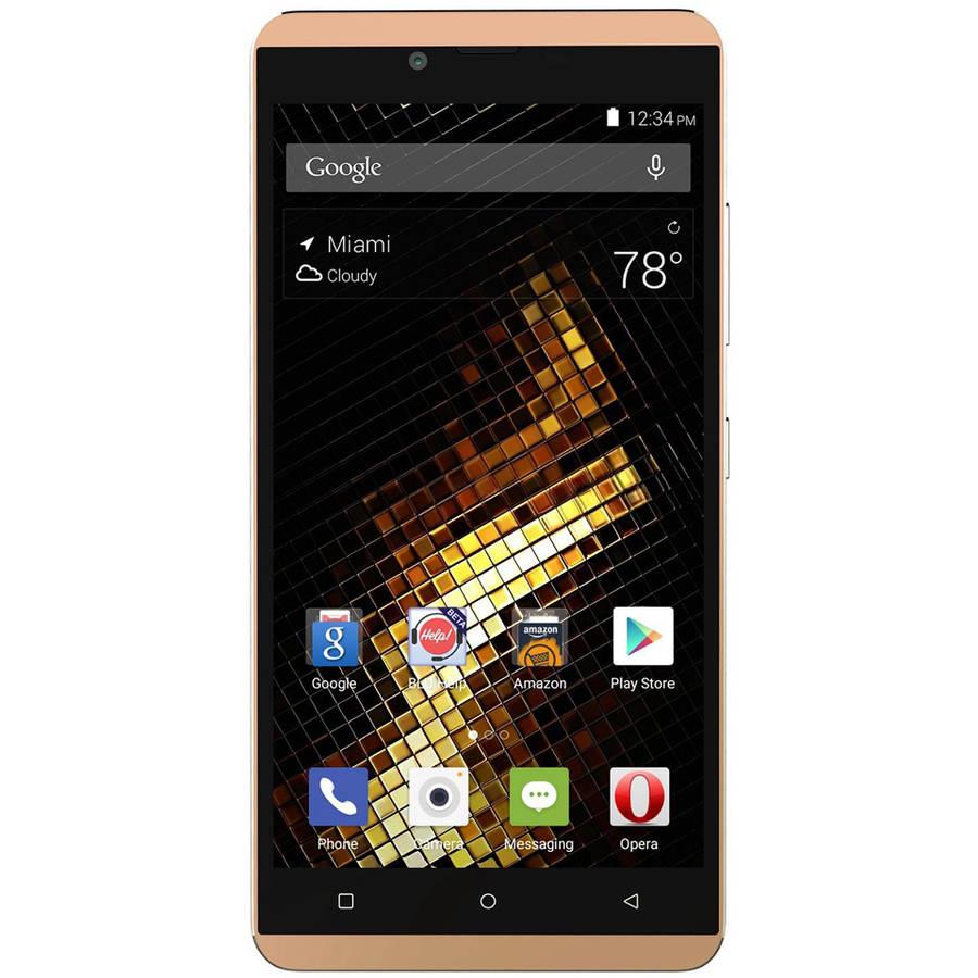 BLU VIVO XL V0030UU GSM Smartphone (Unlocked), Gold