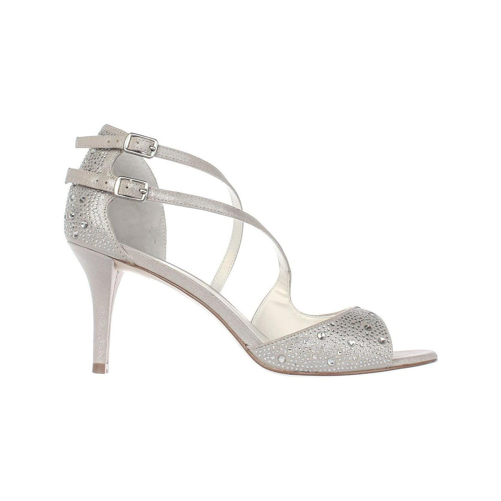 e37dbb025e1407 A35 Cremena Sparkle Strappy Dress Sandals