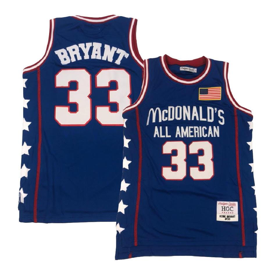 Headgear - Kobe Bryant McDonald's All American Blue Jersey (3X) - Walmart.com