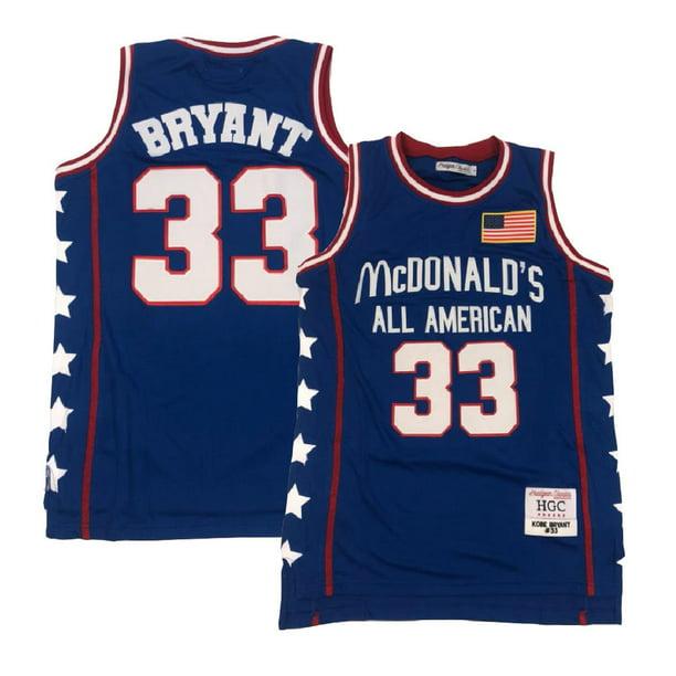 Kobe Bryant McDonald's All American Blue Jersey (XL)