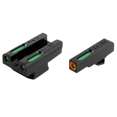 TRUGLO TFX Pro Tritium/Fiber Handgun Sight - Walther PPS