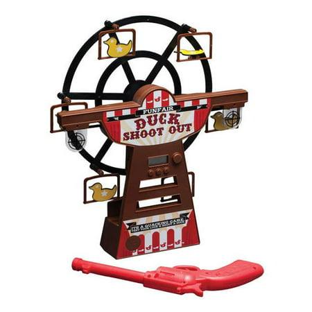 Daron Worldwide Trading Daron Digital Ferris Wheel Duck Shoot (Sharper Image Hungry Bear Target Shooting Game)
