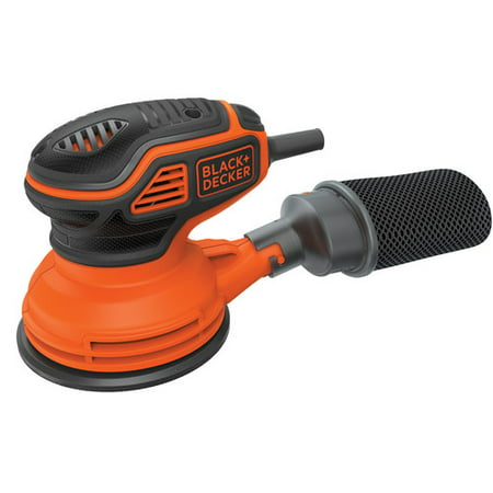 BLACK+DECKER Random Orbit Sander With Paddle Switch Actuation,