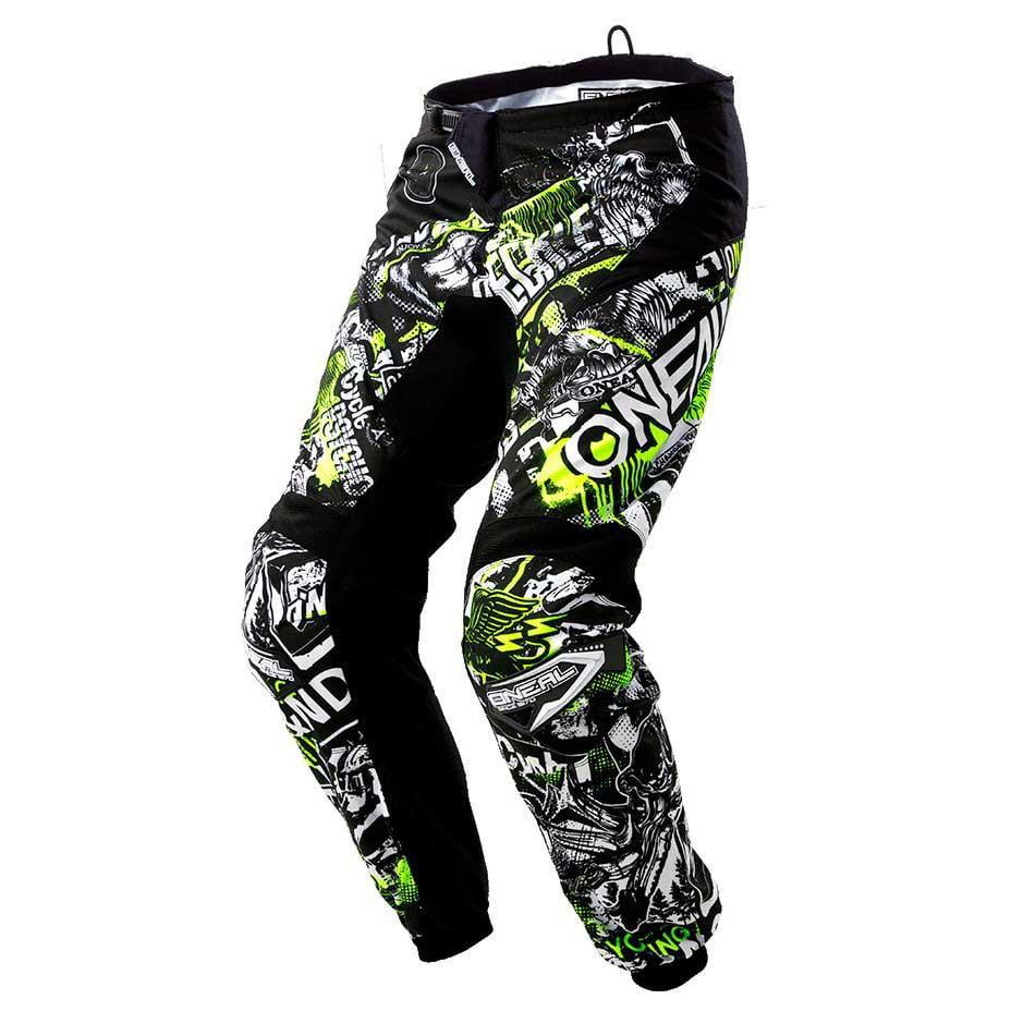Black, 12//14 ONeal Unisex-Child Element Racewear Youth Pant