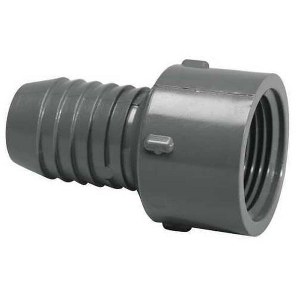 LASCO Female Adapter,Insert x FNPT,3/4 In,PVC 1435-007